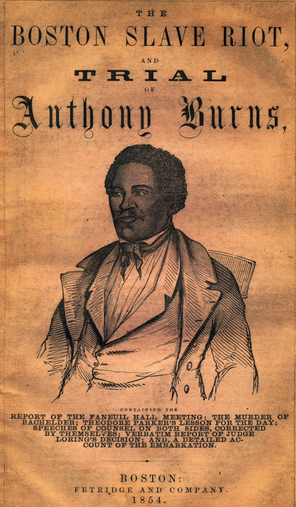 anthony burns essay 2018-6-12 essays and criticism on virginia hamilton's anthony burns - critical essays.