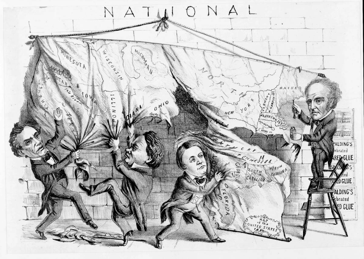 Dividing the National Map