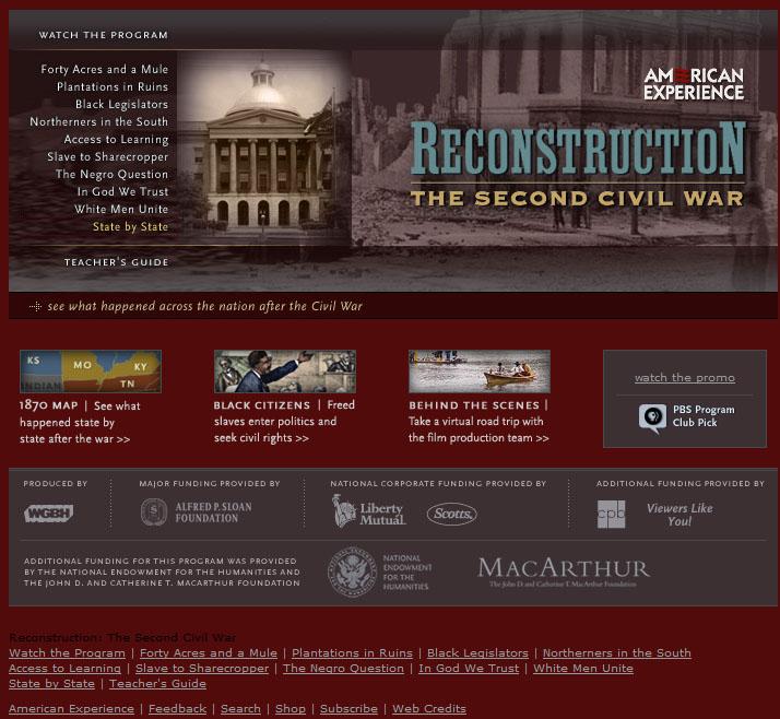 Direct Essays - Slavery Reconstruction Era Of The United