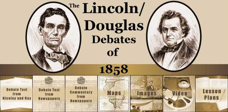 Blog Divided 187 Post Topic 187 Lincoln Douglas Debates