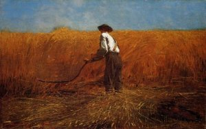 """The Veteran in a New Field"" by Winslow  Homer"