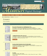 Historic Missouri Newspaper Project