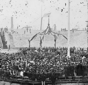 1865-04-14 Flag-Raising at Sumter