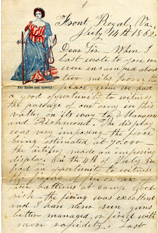 letter to home history american The daughters of the american revolution is an organization with a deeply rich history while also being truly relevant in today's world more than 930,000 women have joined the organization since it was founded close to 125 years ago.