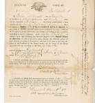 183rd Ohio Volunteer Enlistment Document September 1864