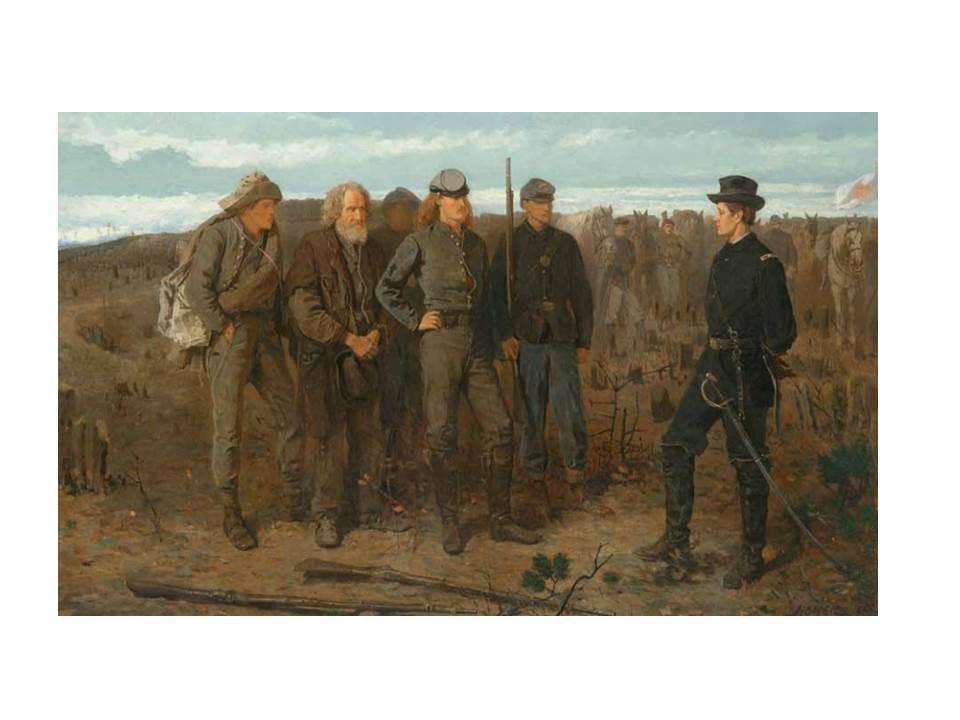 "Winslow Homer, ""Prisoners from the Front,"" (1866)"
