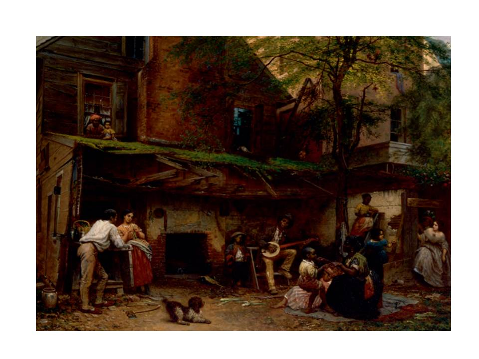 "Eastman Johnson, ""Negro Life in the South"" (1859)"