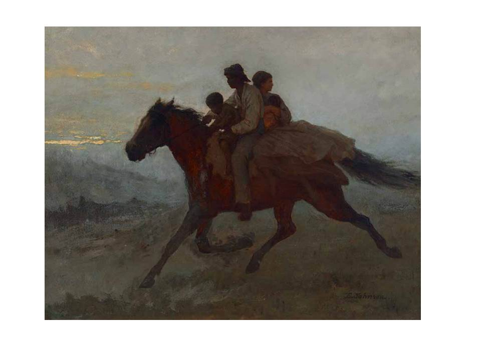 "Eastman Johnson, ""A Ride for Liberty, March 2, 1862"" (1862)"
