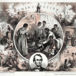 """Emancipation"" by Thomas Nast (Courtesy of Library of Congress)"