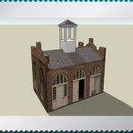 Harpers Ferry engine house (3D model)
