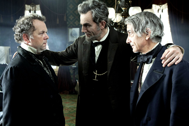 William Seward, John Calhoun, and Daniel Webster