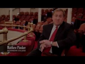 Project Director Matthew Pinsker at Ford's Theatre