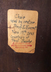 Chair note