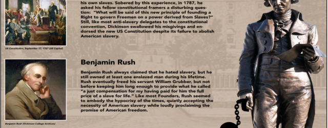 Rush statue