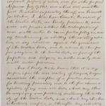 First Draft of Emancipation Proclamation