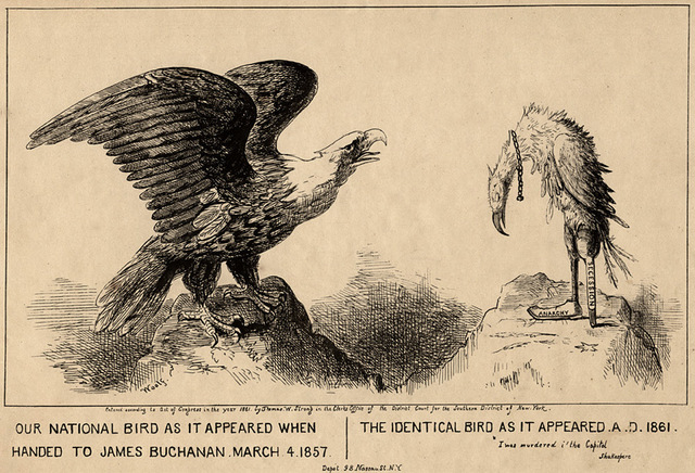 Political cartoon (1861)