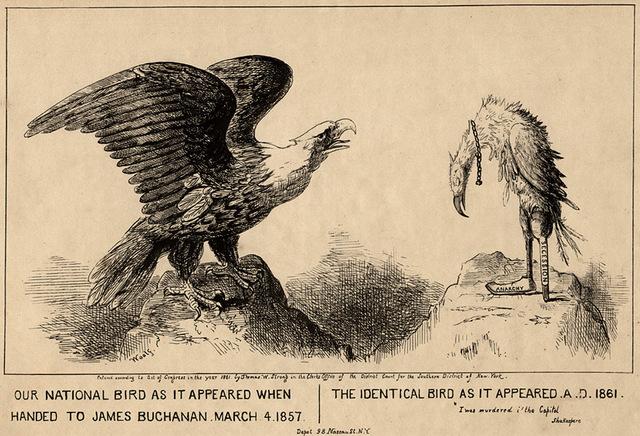 First Inauguration cartoon