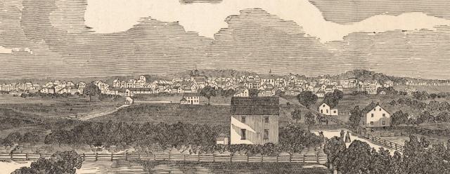 Gettysburg Town, 1863