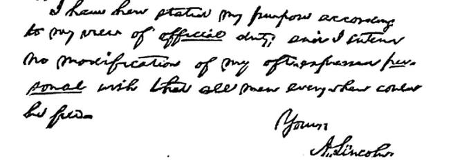 Greeley Letter part