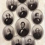 Lincoln Cabinet, c. 1864