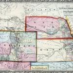 Kansas, Nebraska, & Colorodo Map