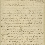 Letter by Grace Bedell
