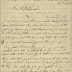 Letter by Grace Bedell