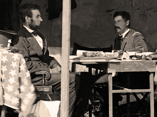 Lincoln & McClellan in 1862