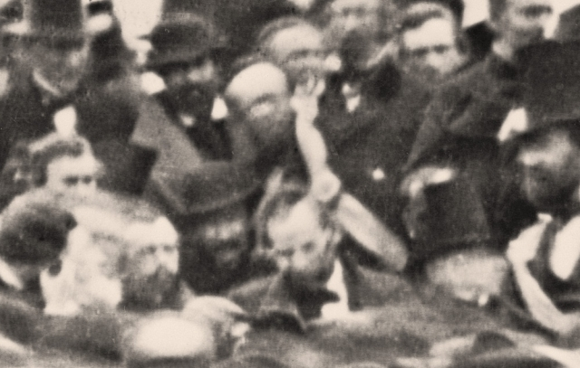 Lincoln at Gettysburg (Detail)