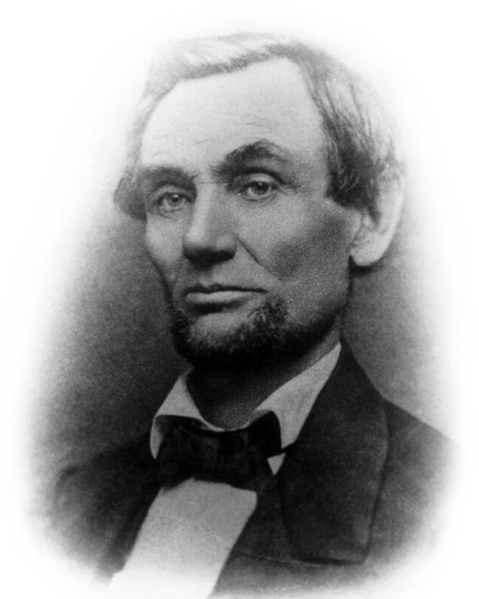 Lincoln in  with beard