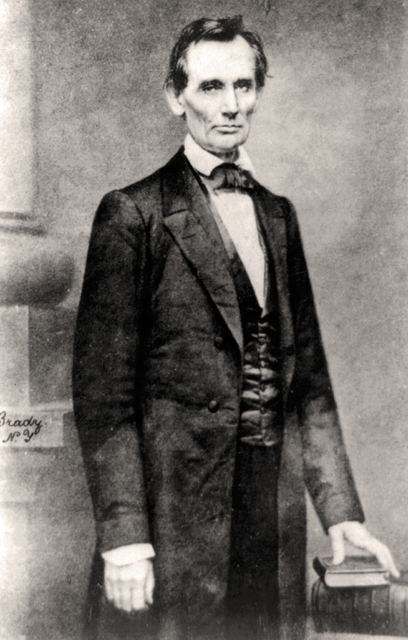Lincoln in 1860