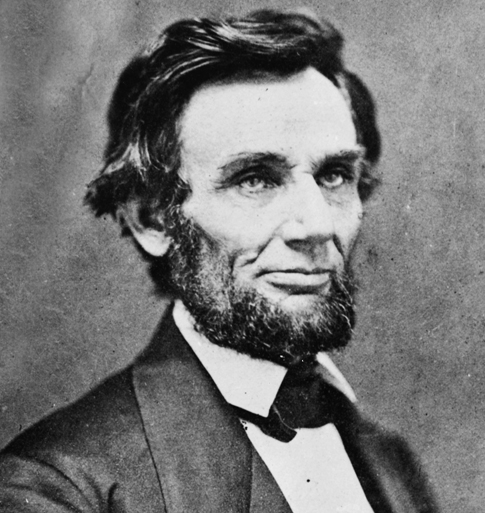 Lincoln in 1861