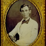 Lincoln in white suit