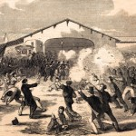 Rioting in Baltimore, 1861