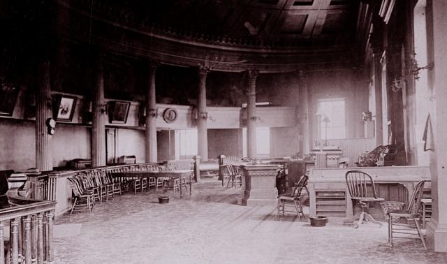 Springfield State Capitol interior