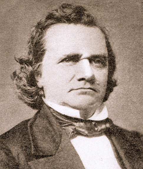 Stephen Douglas in 1858