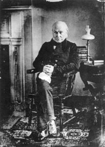 John Quincy Adams, c. 1843