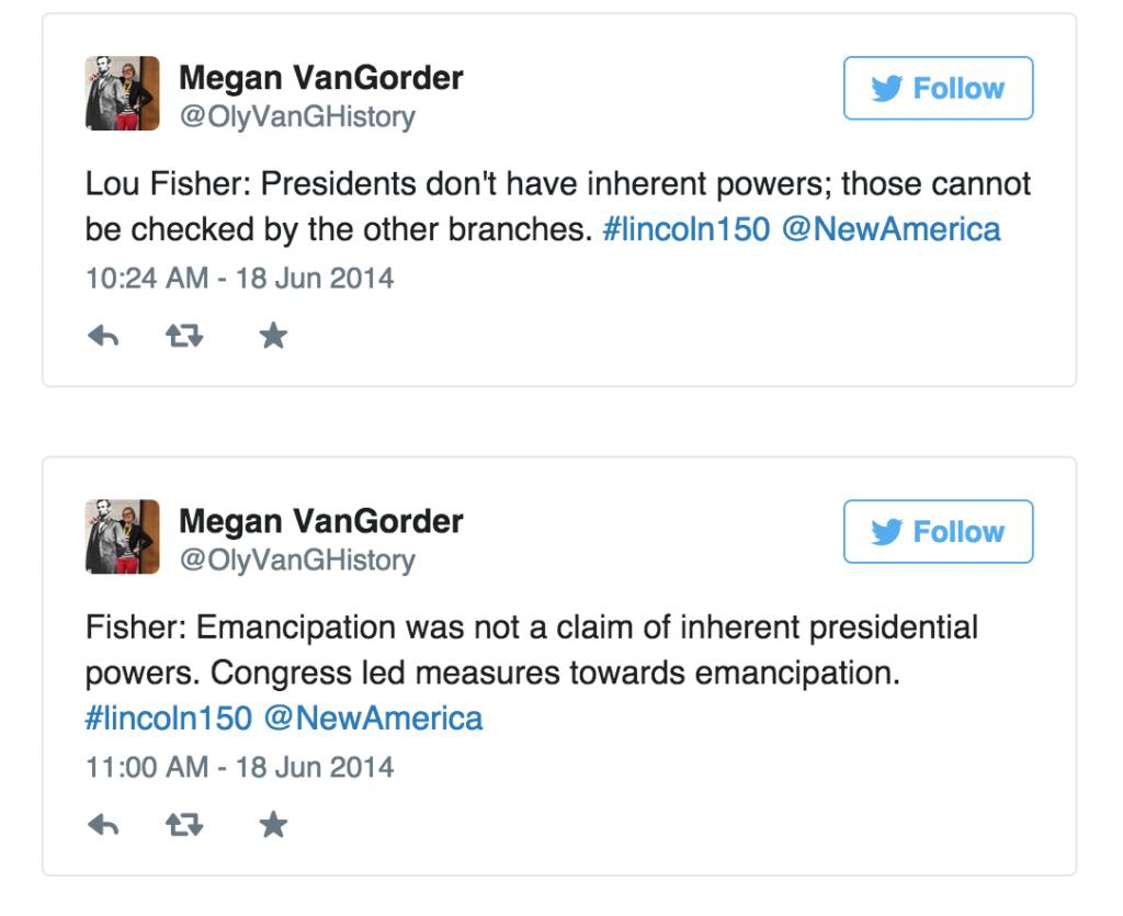 Van Gorder Tweets