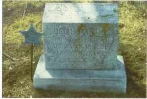 Final Resting Place of Uriah Martin - Union Hill Cemetery