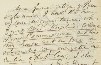 McAllister letter