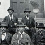 College janitors, 1898