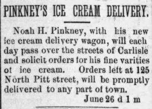 Pinkney's Ice Cream Service