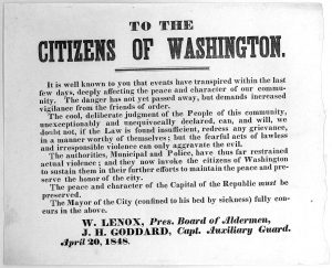 1848 broadside