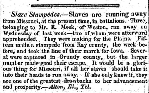Slave Stampedes Article