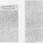 Stampede article, Weekly Anglo African, April 13, 1861