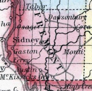 Map, Iowa