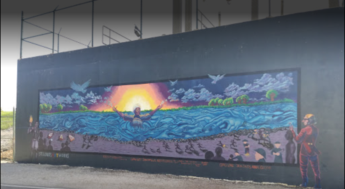 Picture of a mural