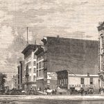 Chicago street view 1863