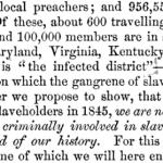 stampede of slaveholders