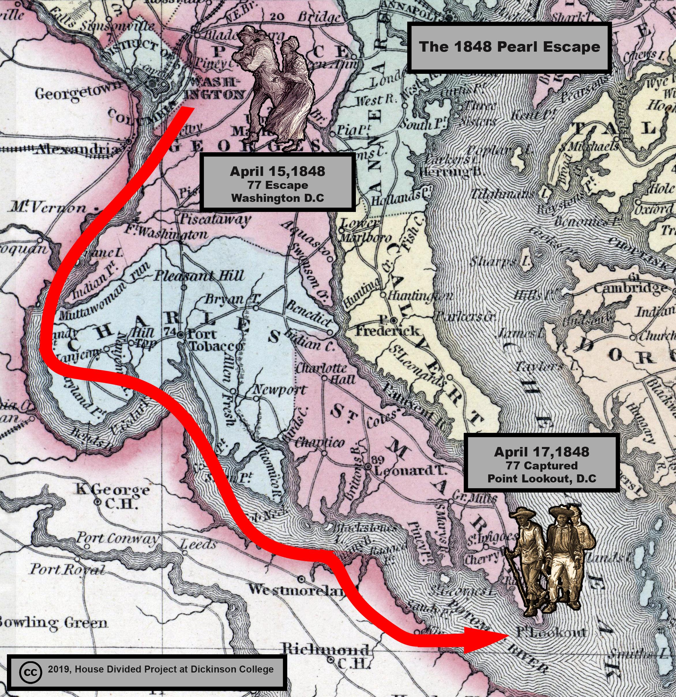 Pearl Escape Map